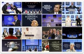 Davos Media Wall