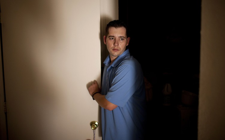 IN THE DARK: When Shawn Aiken sought answers about the deductions from his pay,