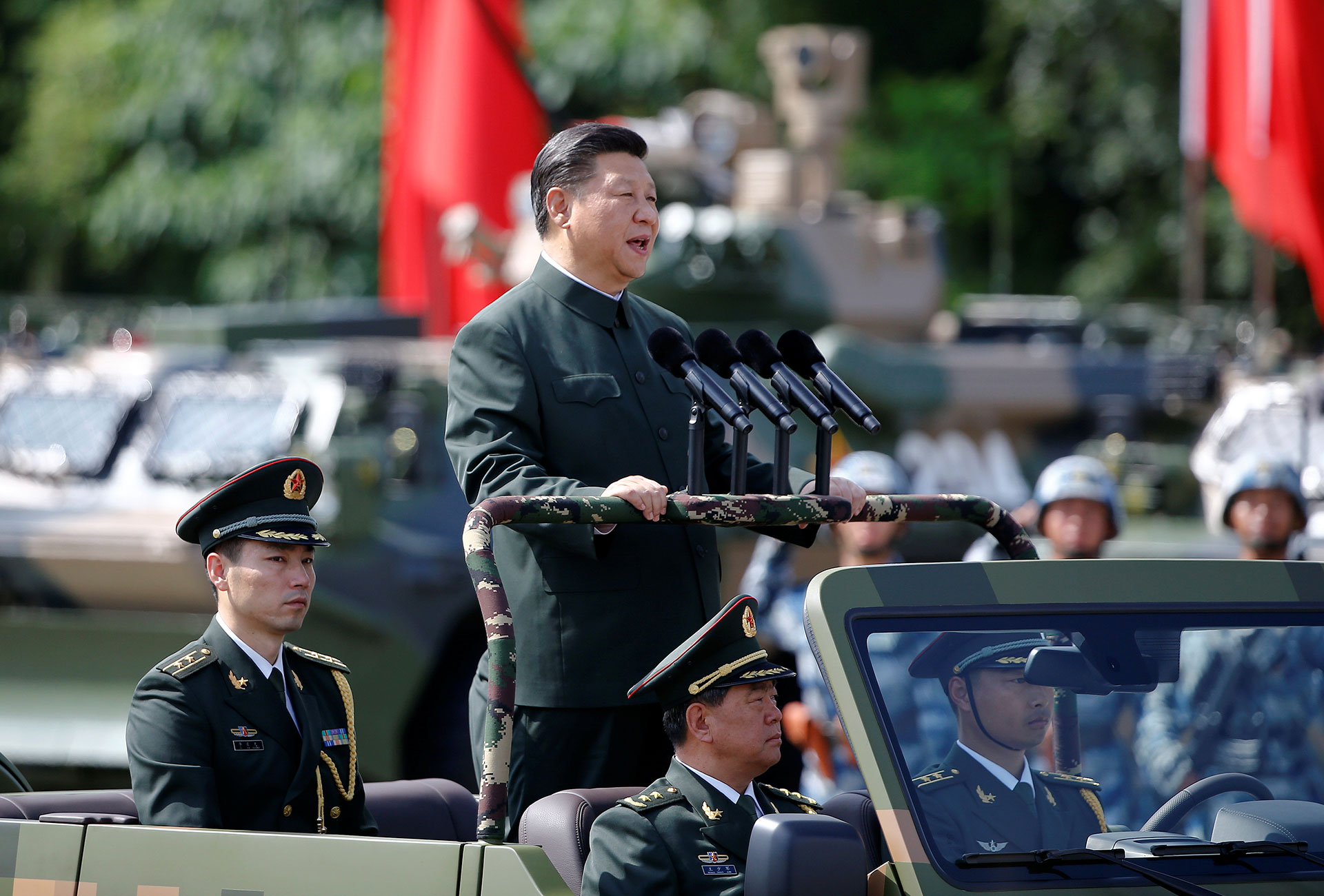 China Challenge: Xi's army is replacing the U.S. as Asia's mightiest
