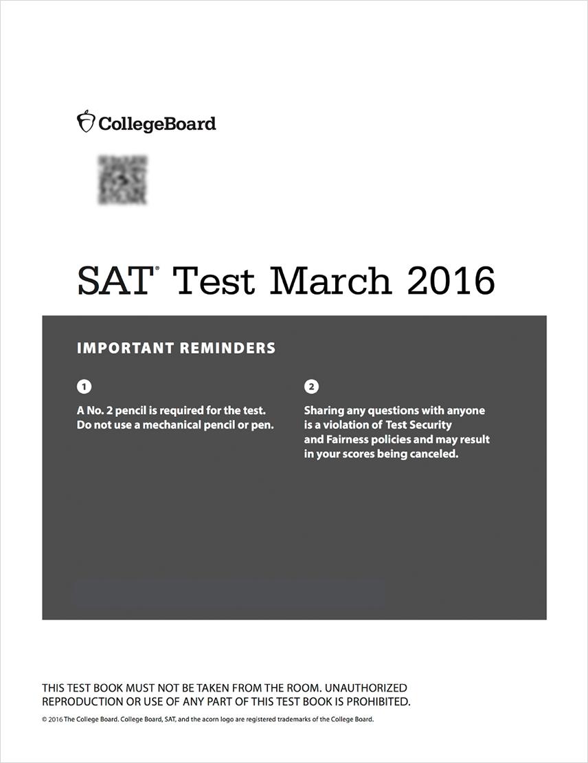 Official SAT Practice