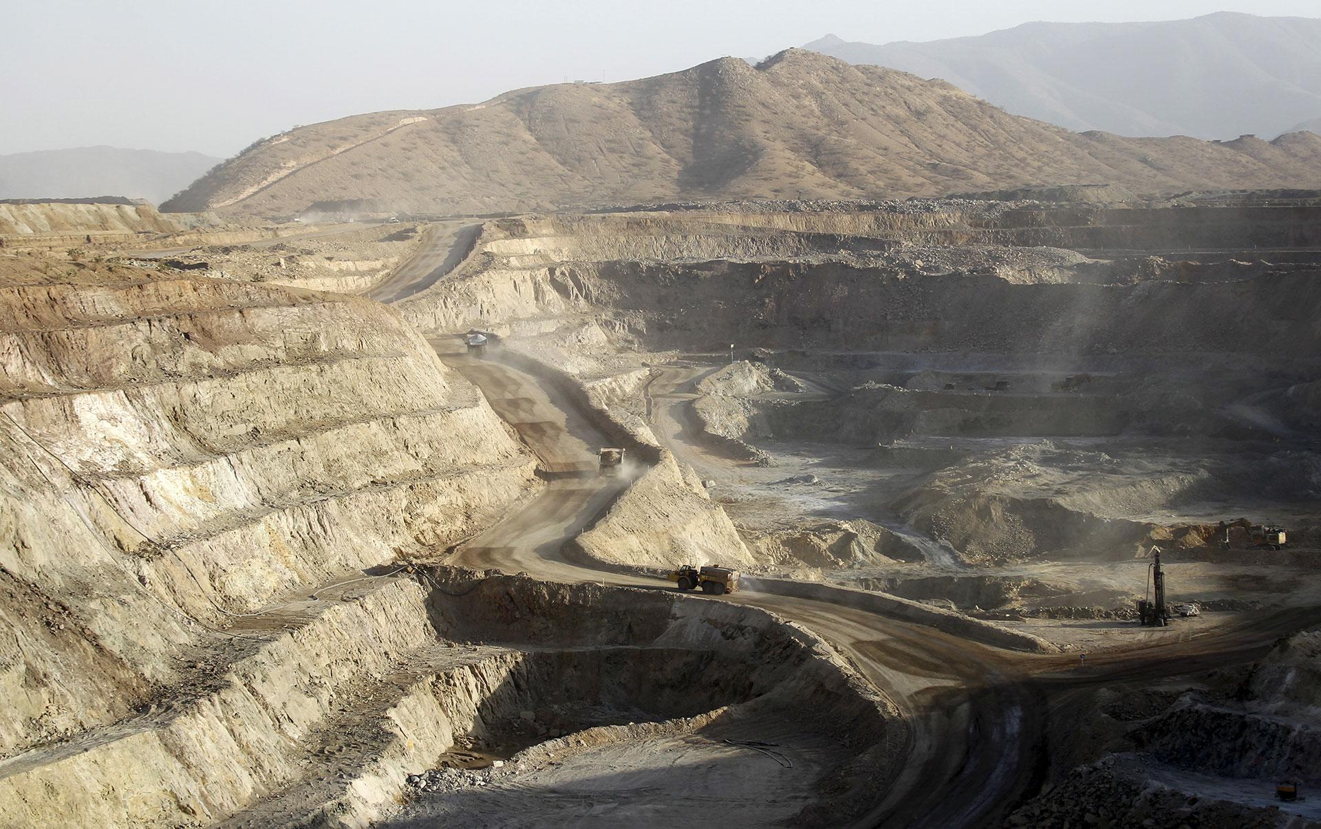 Eritrea mine