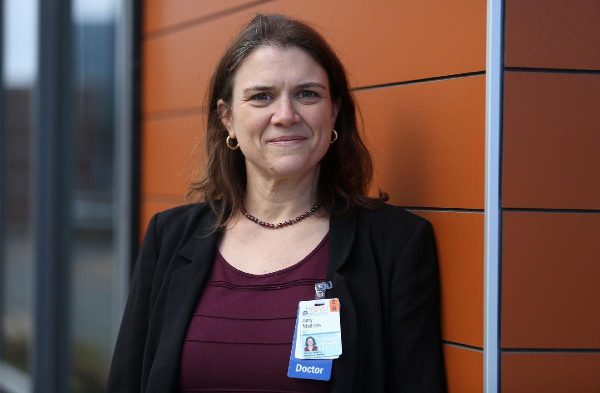 Amy Mathers, Dr. at U of Va. Medical Center