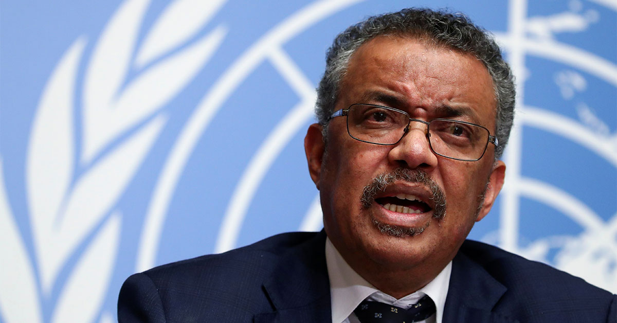 WHO Chief Says It's 'Premature' to Rule Out Coronavirus Lab Leak Theory