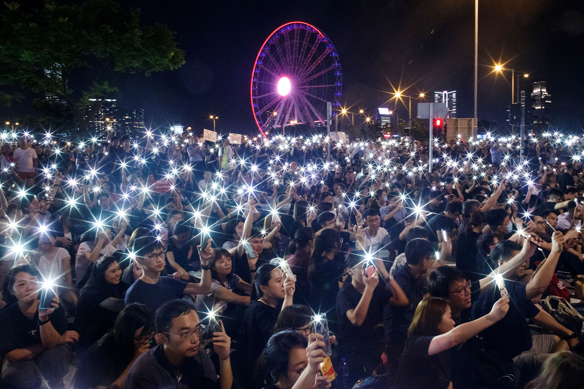 Its Not Just Demonstrators Saying >> Inside The Hong Kong Protesters Anarchic Struggle Against China