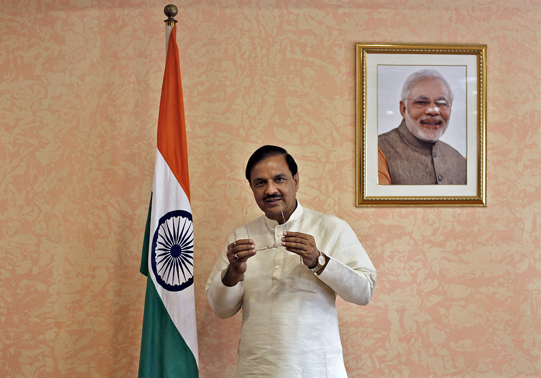 Culture Minister Mahesh Sharma. Image: Reuters