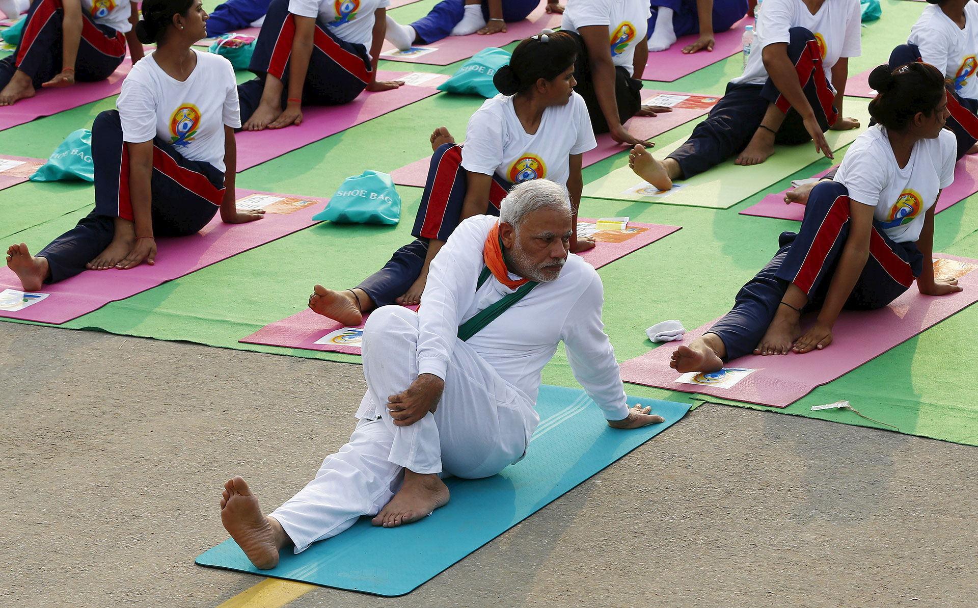 As Modi And His Hindu Base Rise So Too Does A Yoga Tycoon
