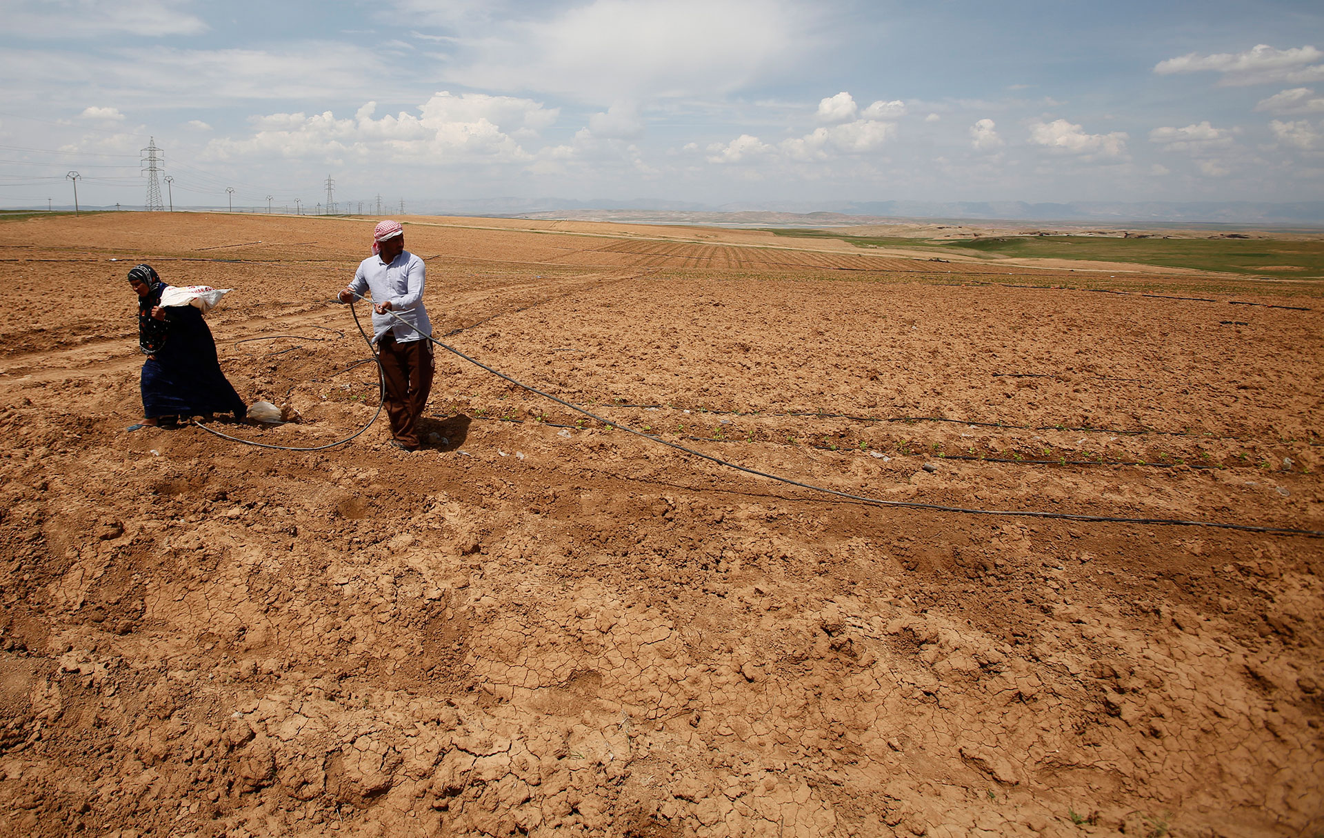 How iraqs agricultural heartland is dying of thirst barren land the province of nineveh in northern iraq it was once a lush region capable of producing almost a quarter of the countrys wheat publicscrutiny Gallery