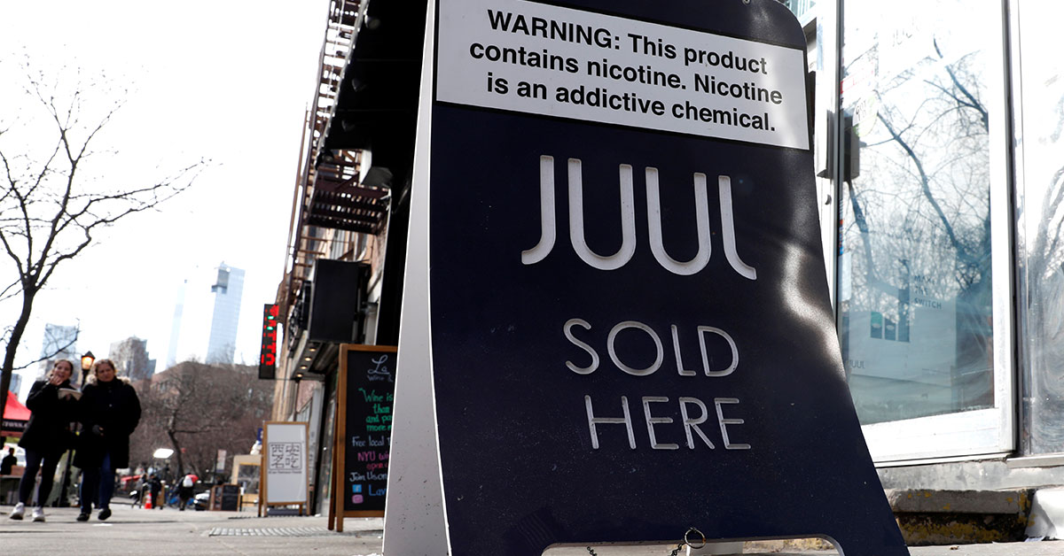 Juul disregarded early evidence it was hooking teens - Reuters.com
