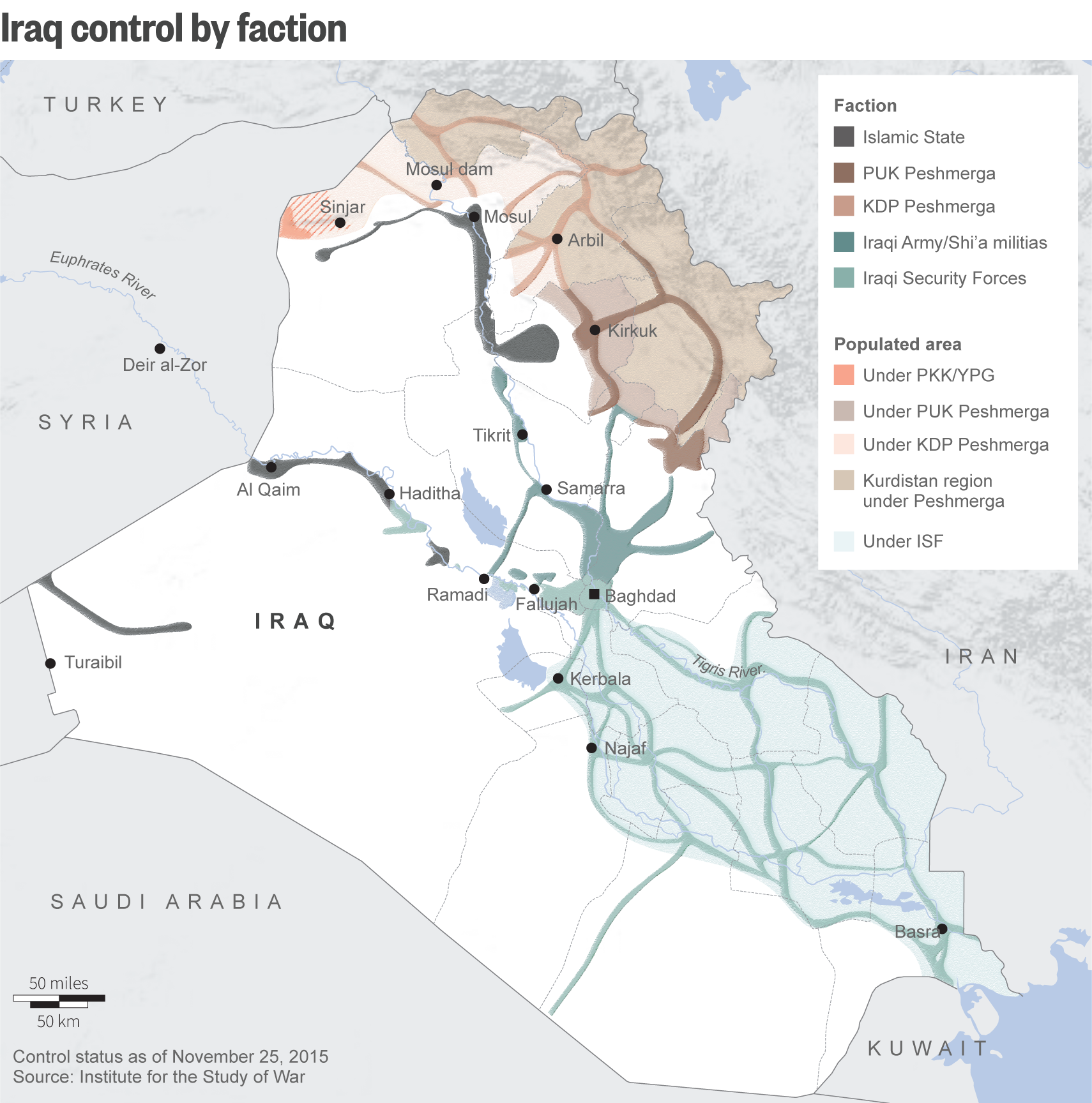 How Saddam's fighters help Islamic State rule