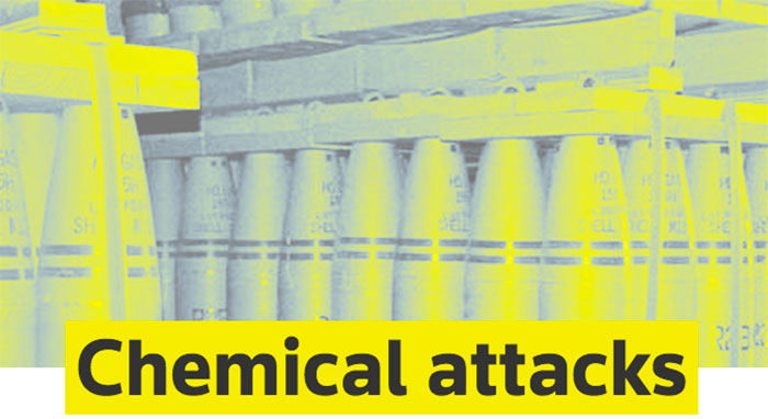 he chemical weapons essay Chemical weapons and their use is one of the most important issues facing the world today not only is the use of such weapons highly controversial, but also the very idea of such weapons of.