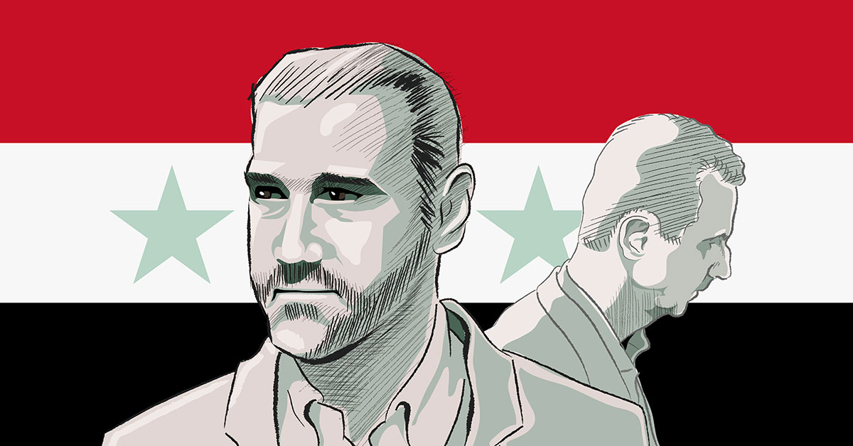 A collapsing economy and a family feud pile pressure on Syria's Assad
