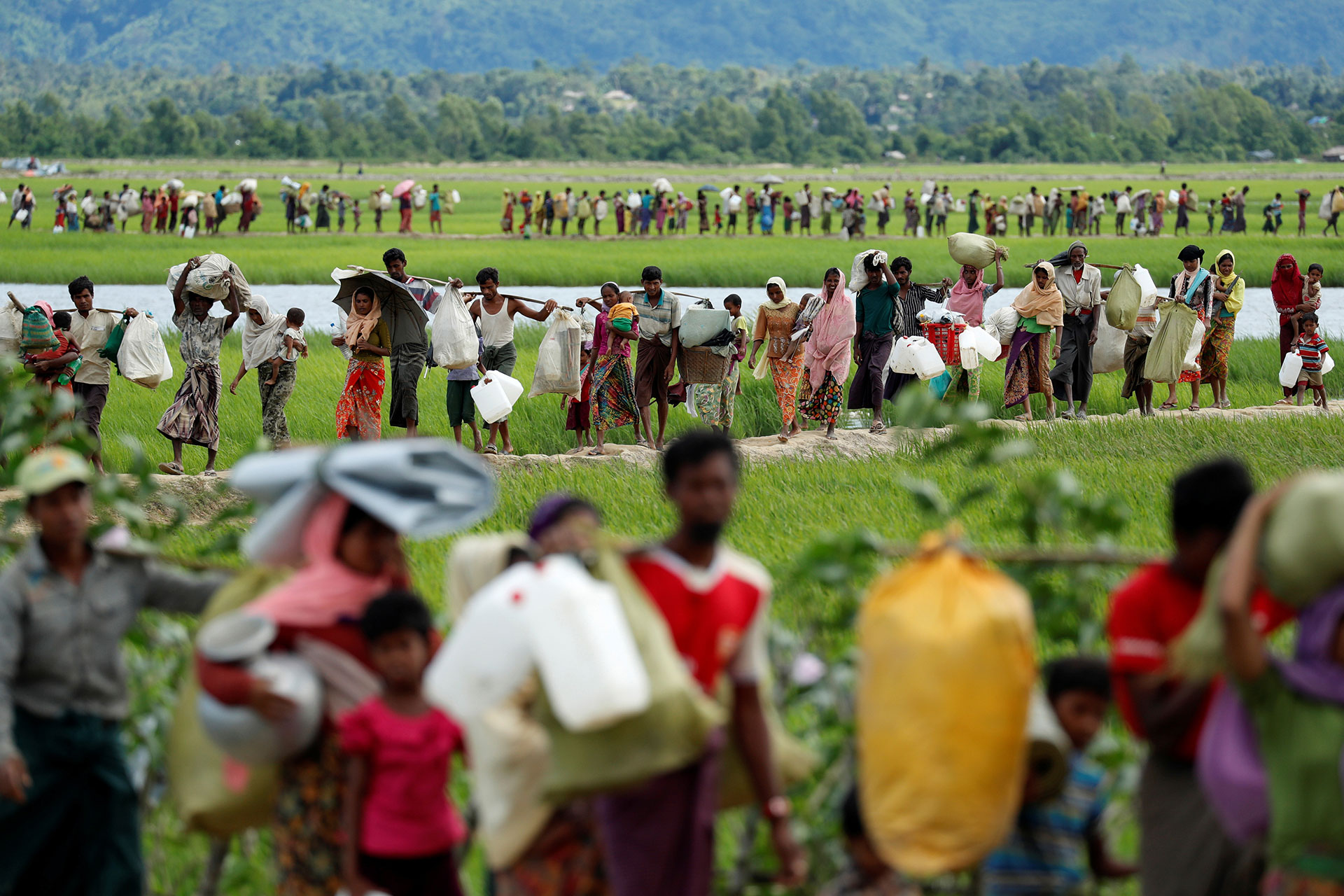 Why Facebook is losing the war on hate speech in Myanmar
