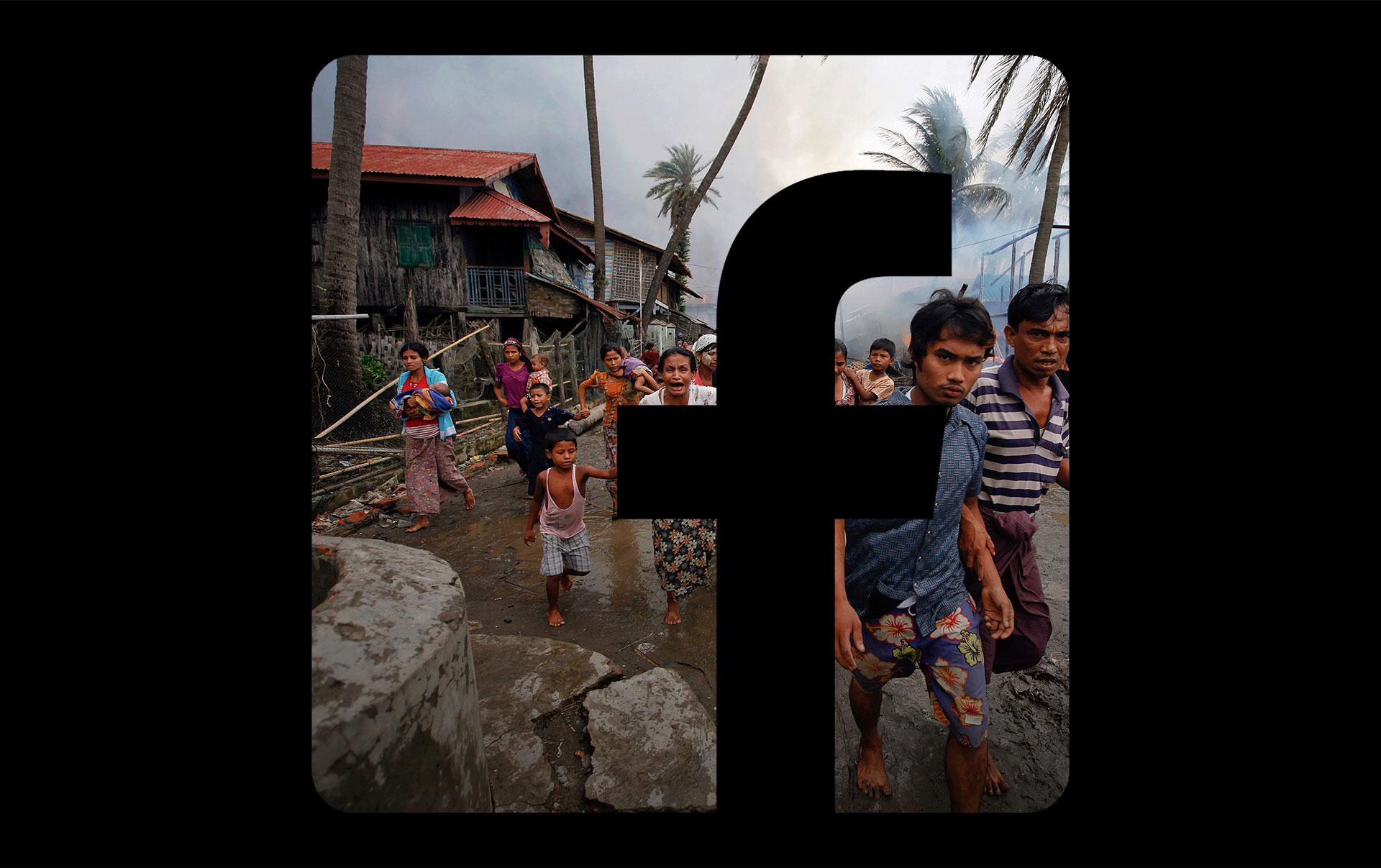 Картинки по запросу Facebook anti-Islam algorithm rohingya