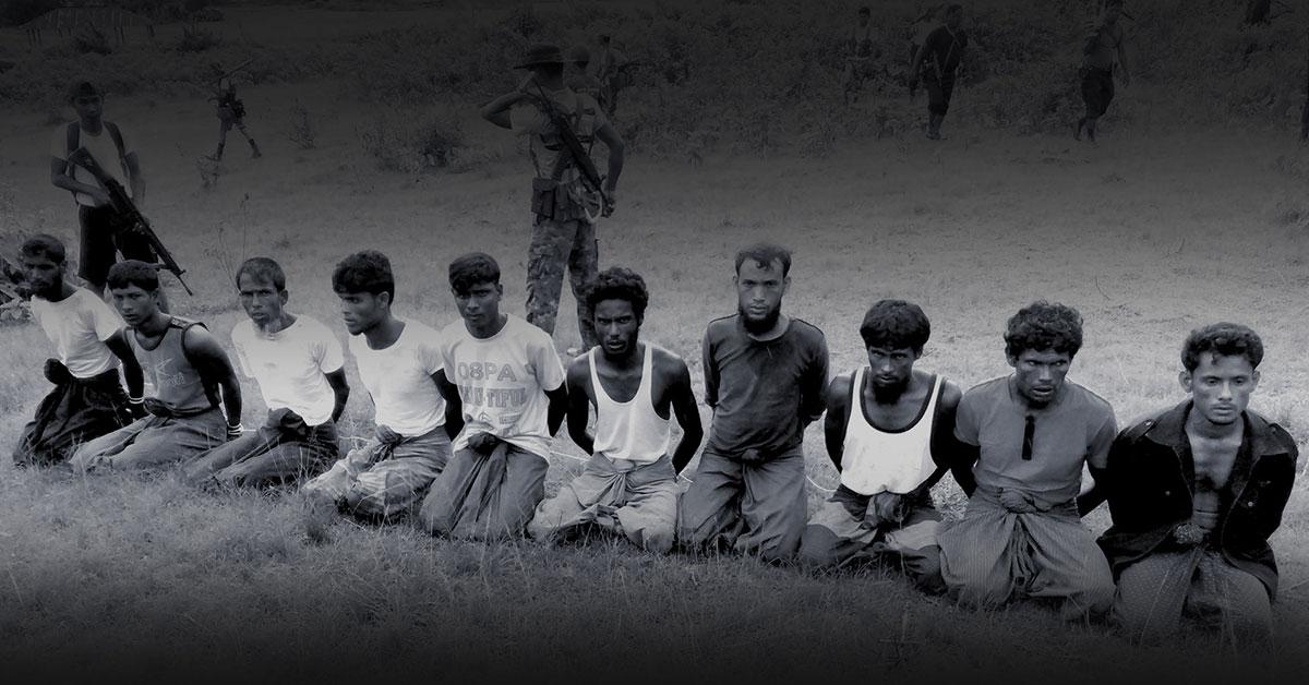 Massacre in Myanmar: One grave for 10 Rohingya men