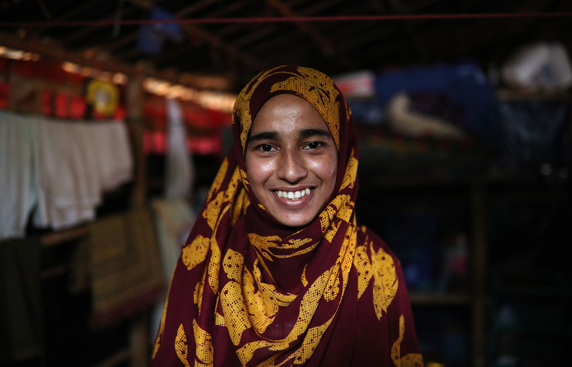 How a young Muslim woman who fled terror in Myanmar made it