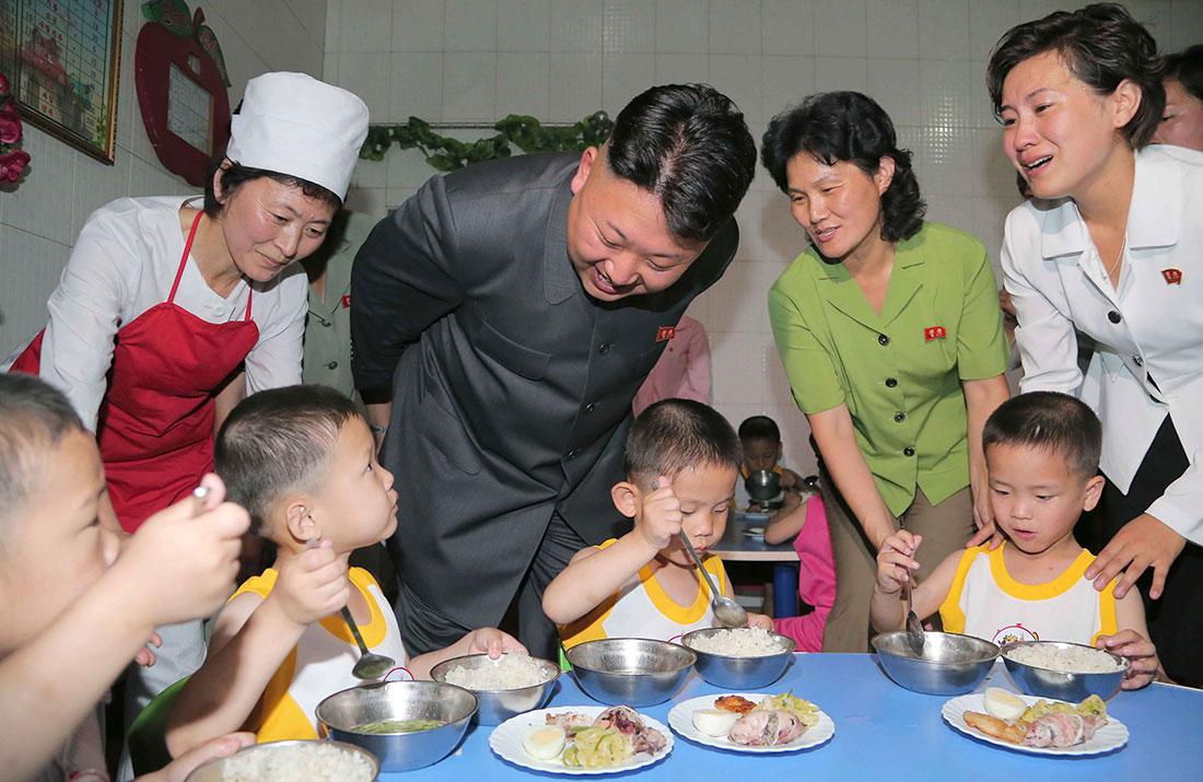 Un report north korea food culture