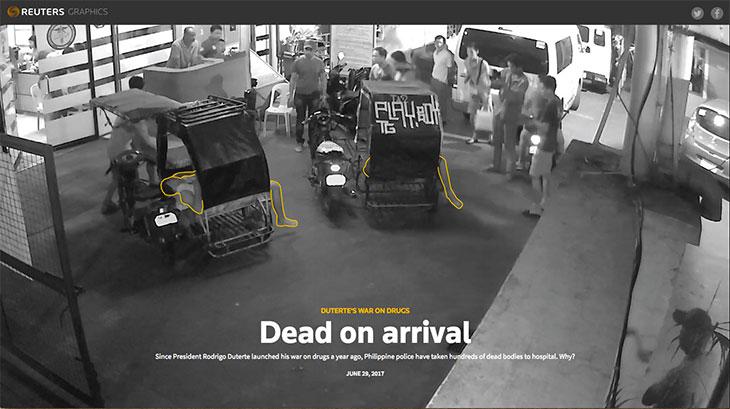 Philippine police use hospitals to hide drug war killings