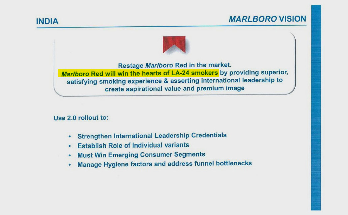 India fumes as Philip Morris pushes Marlboro on young people