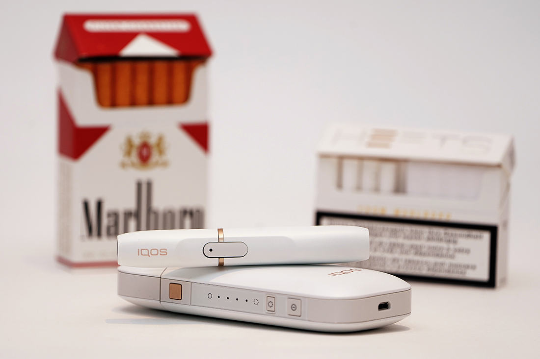 How Philip Morris is selling regulators on its hot new