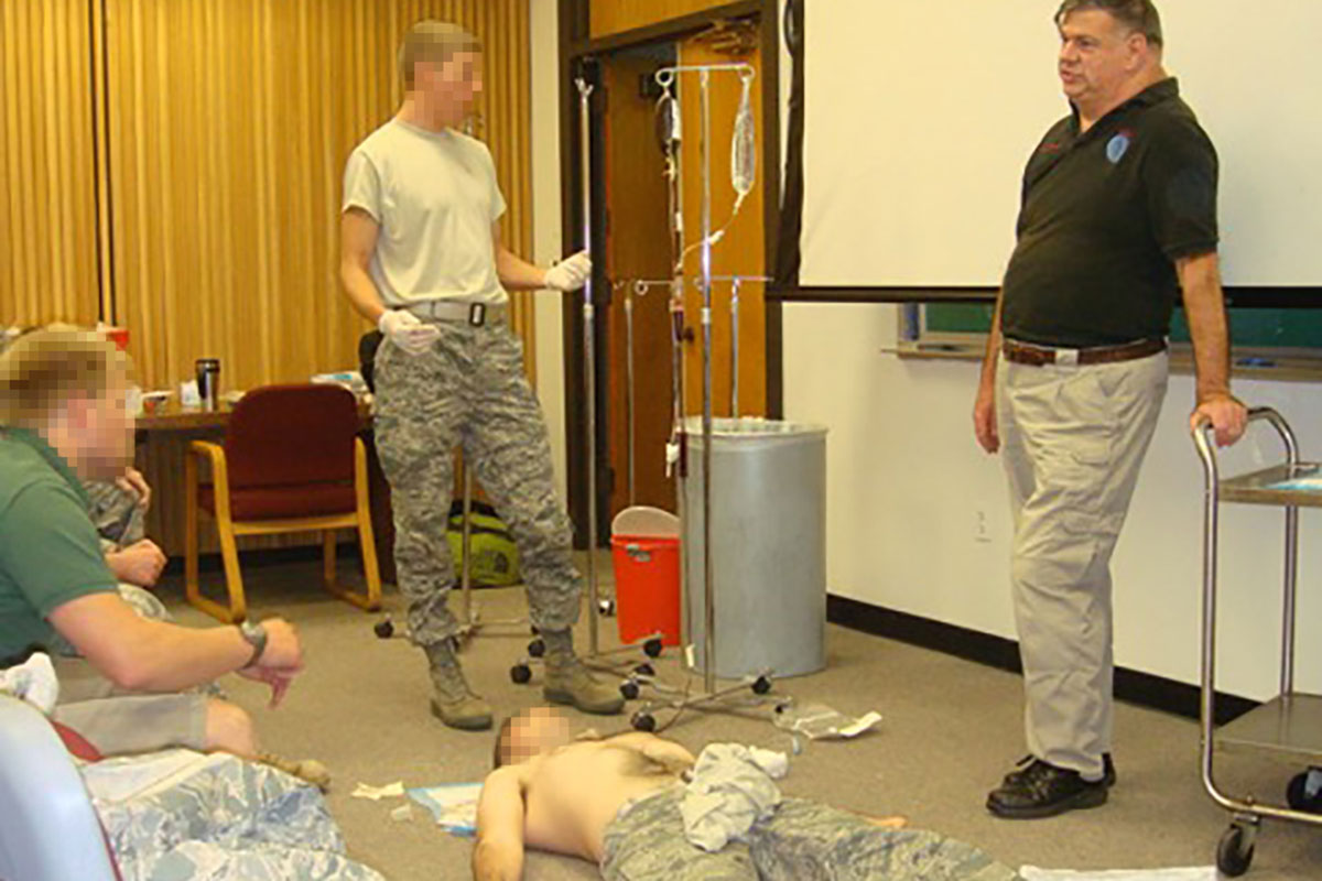 Military knew about ghoulish methods of doctor training troops
