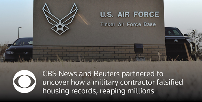 U S  Air Force landlord falsified records to boost income: documents