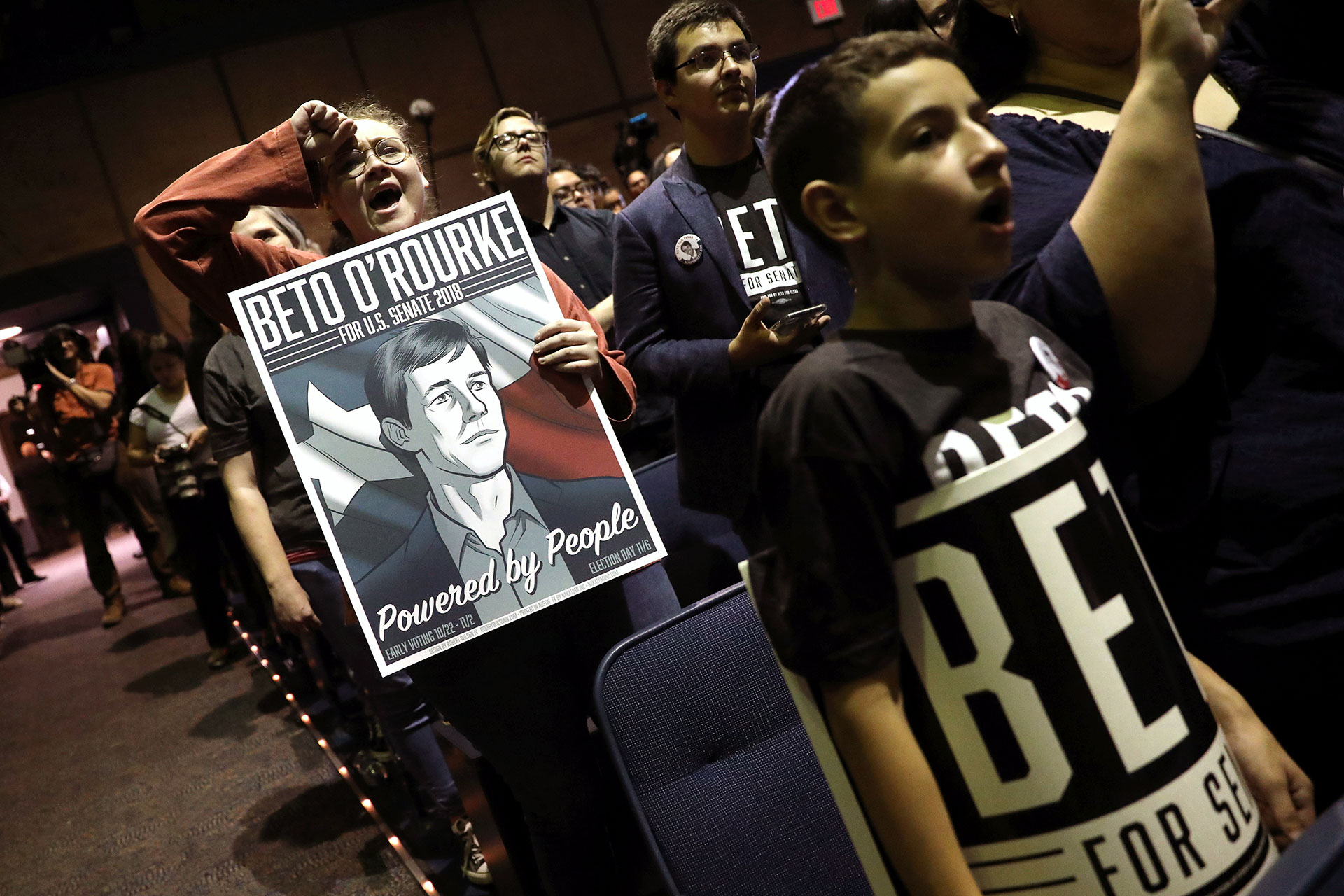 a4a070e39 O'Rourke attend a campaign rally in El Paso, Texas, on the last day before  last fall's midterm elections. REUTERS/Mike Segar/File Photo