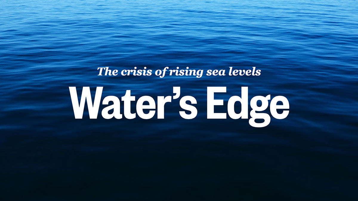 Reuters Water 39 S Edge The Crisis Of Rising Sea Levels