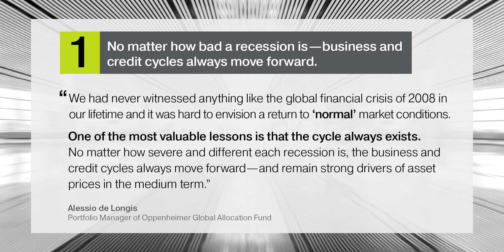 8 Lessons for Investors a Decade After the 2008 Market Crash