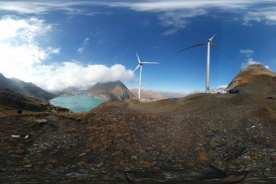 Image result for FOCUS 360 Europe's highest wind farm opens in Switzerland