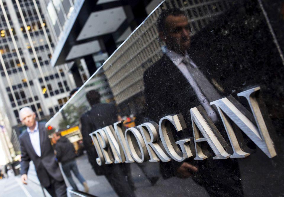 JPMorgan freezes donations to GOP deniers
