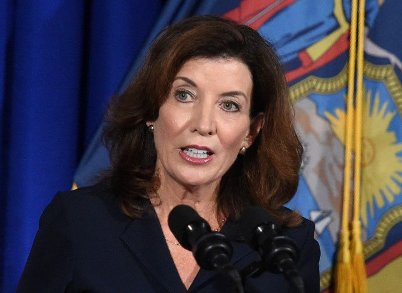 Governor Replacement Kathy Hochul to Seek Election After Finishing Cuomo's Term