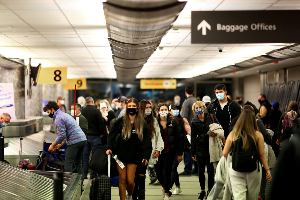 Vaccinated people can resume travel at low risk