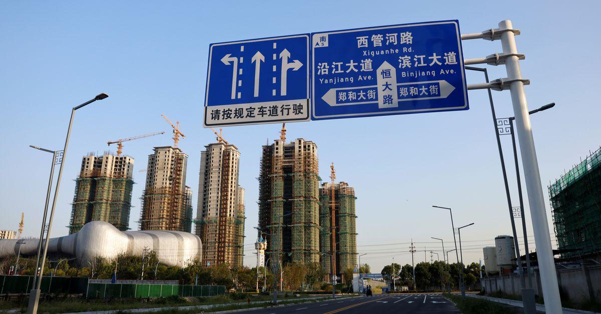 China Evergrande bondholders in limbo over debt crisis - Reuters