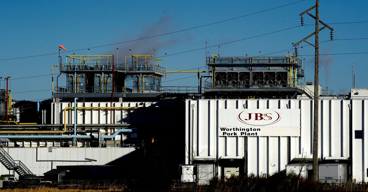 Meatpacker JBS says it paid equivalent of $11 mln in ransomware attack