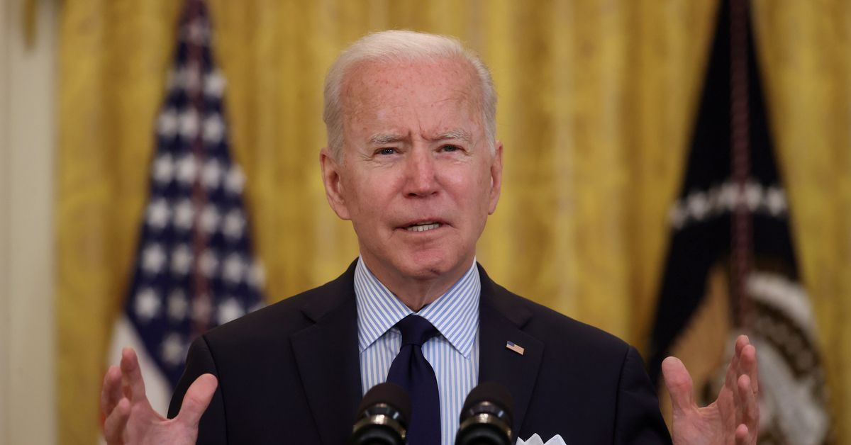 Biden says fuel shortages should ease by this weekend as pipeline restarts