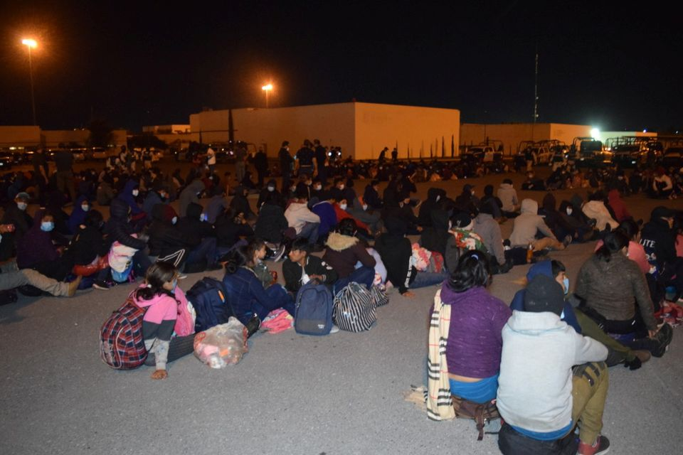 In Mexico, More Than 600 U.S.-bound Migrants Found Packed in Trucks