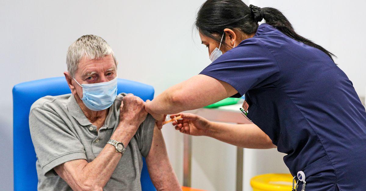 Half of British population has had first COVID-19 vaccine