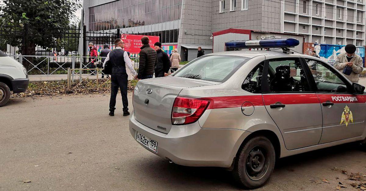 Eight killed in Russian university shooting, gunman 'liquidated' - Reuters