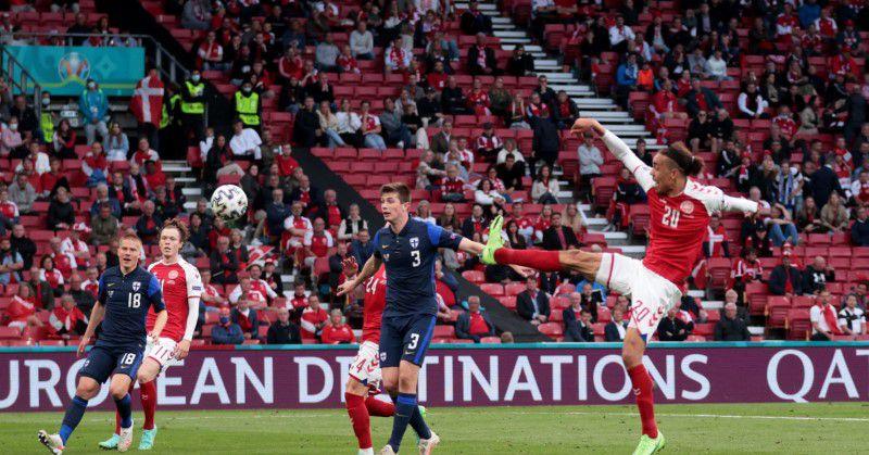 Denmark game overshadowed by Eriksen collapse as Finns win 1-0