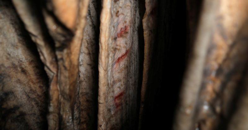 Prehistoric cave work in Spain present Neanderthals have been artists