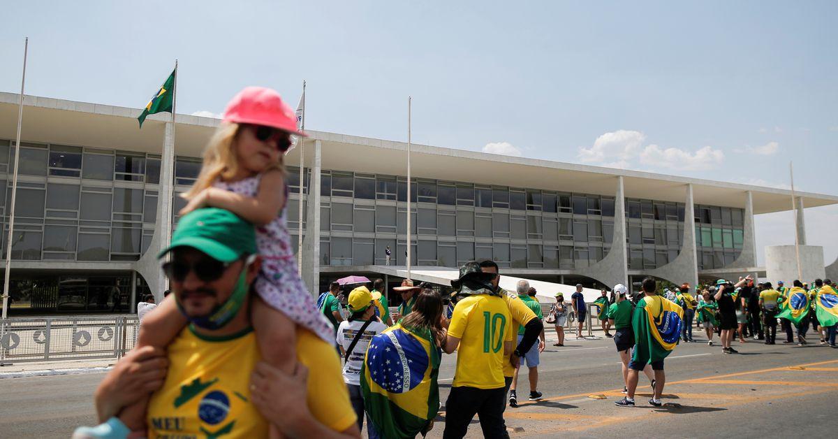 Photo of Brazil braces for pro-Bolsonaro rallies on Tuesday