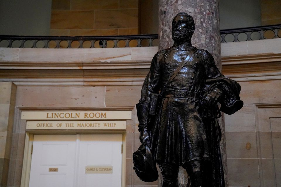 House Votes to Remove Statues of Confederate Leaders from Capitol