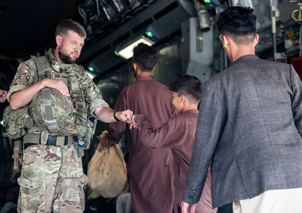 UK Says It Has Evacuated Over 7,000 People from Afghanistan