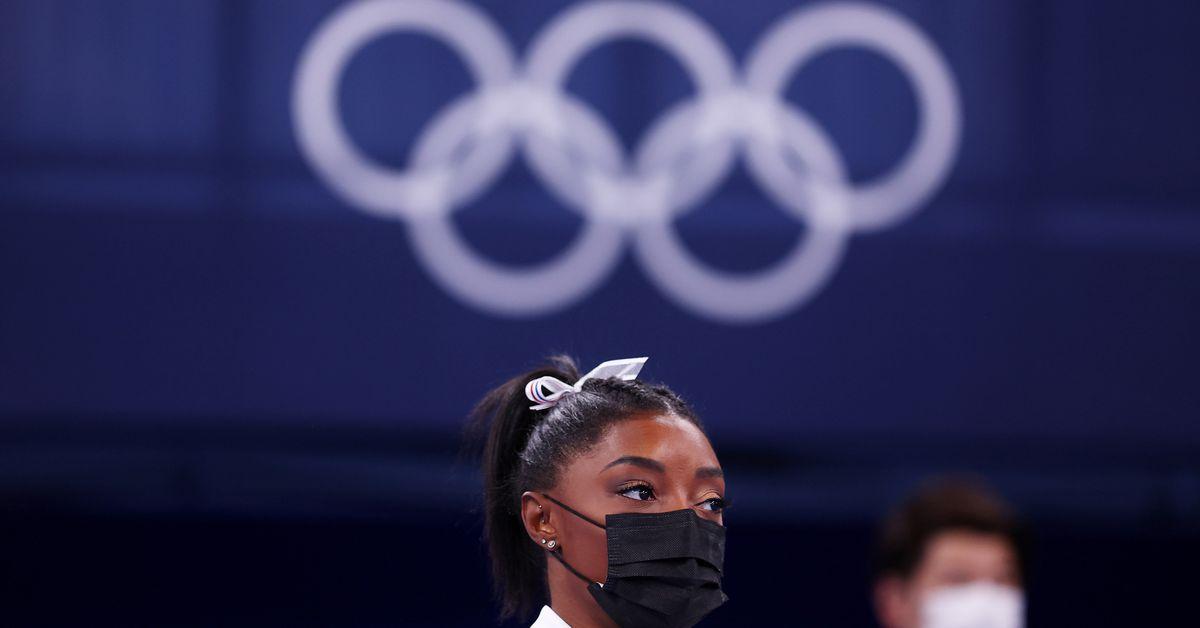 Gymnastics-Biles on start list for balance beam final - Reuters