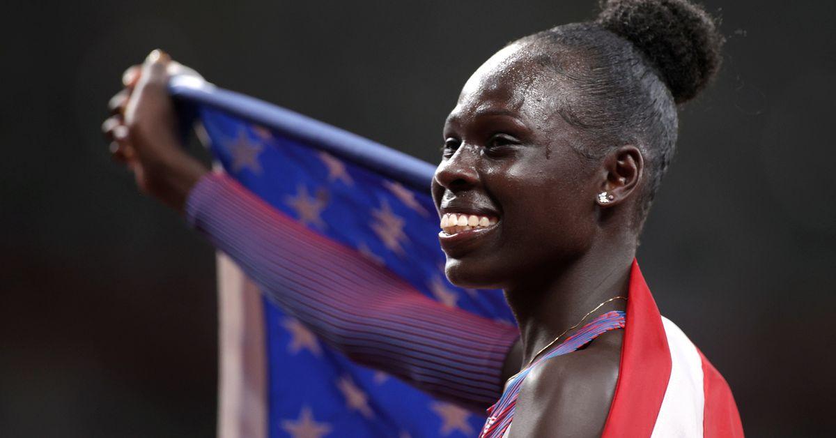 Athletics-Mu ends long American wait for women's 800m gold