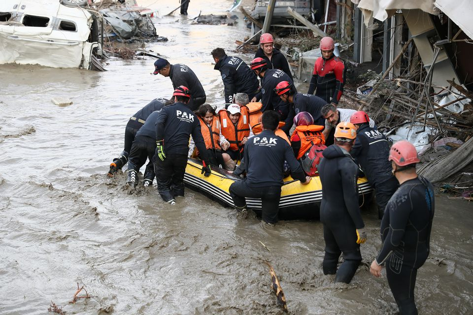 Black Sea Floods Death Toll Rises to 31 in Turkey