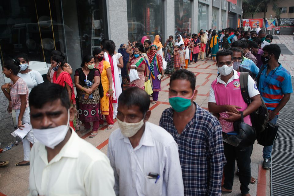 Coronavirus Infections in India at Five-Month Low Amid Vaccination Push