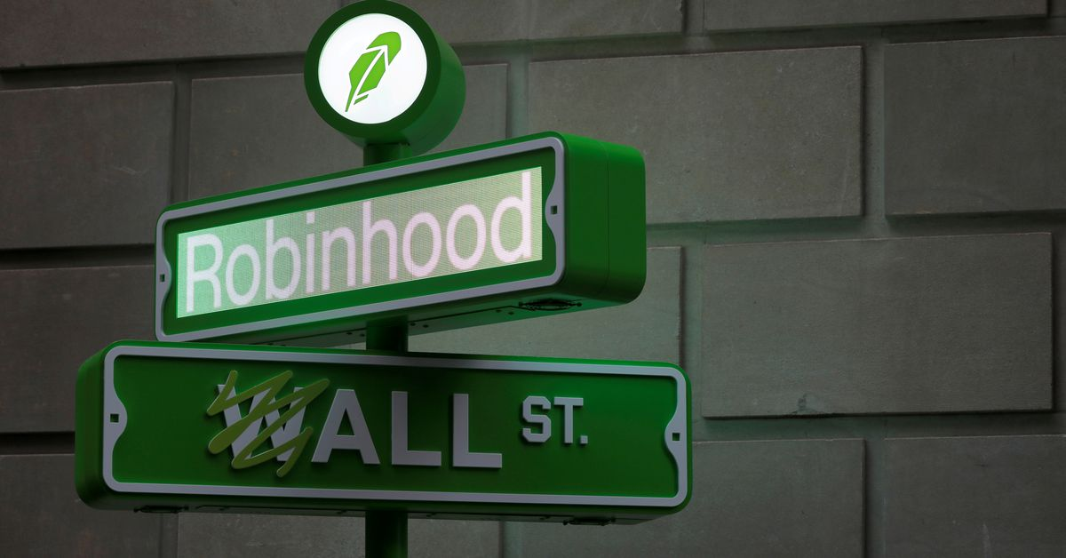 Robinhood shares fall below the listing price in aftermarket trading due to crypto-slowdown