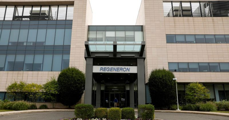 Regeneron's antibody therapy cuts deaths among some hospitalised COVID-19 patients -study thumbnail