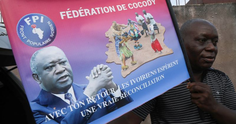 Police fire teargas as crowds mass to welcome back Ivory Coast's Gbagbo